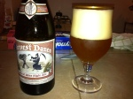I had a Boulevard Brewery Harvest Dream - a wheat wine style ale.  Very hopped up and surprisingly delicious
